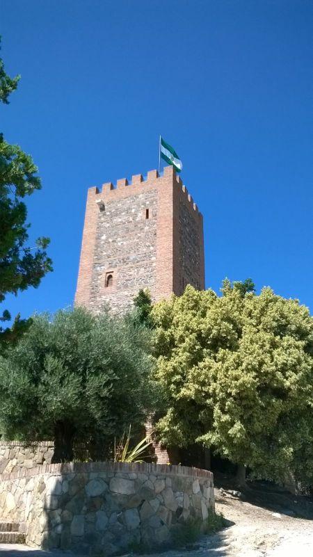 Bandera castillo Vélez