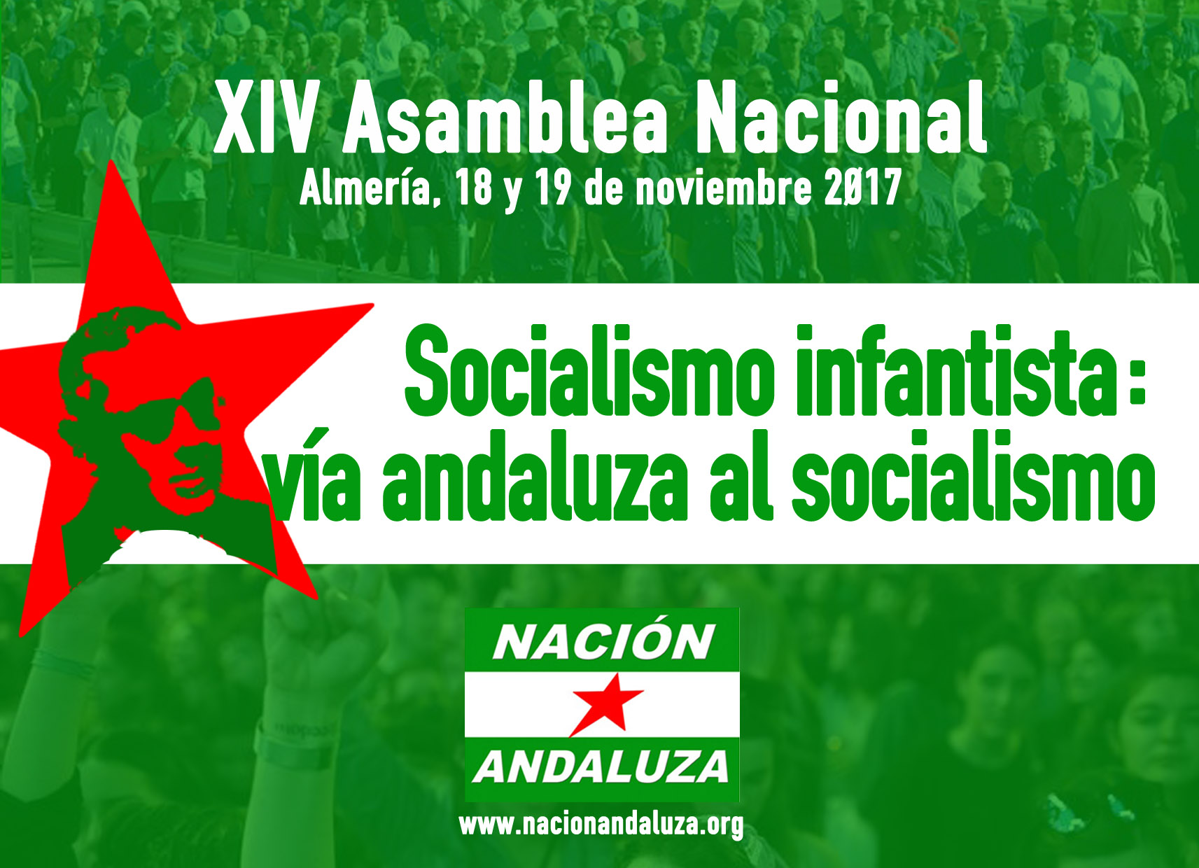 "Hacia la XIV Asamblea Nacional: ""Socialismo infantista: vía andaluza al socialismo"""