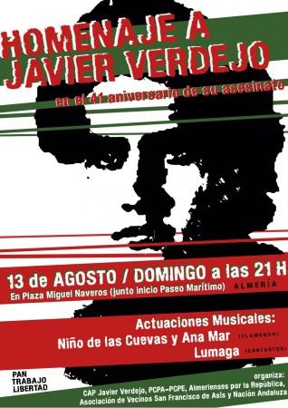 Nación Andaluza a 41 años del asesinato de Javier Verdejo