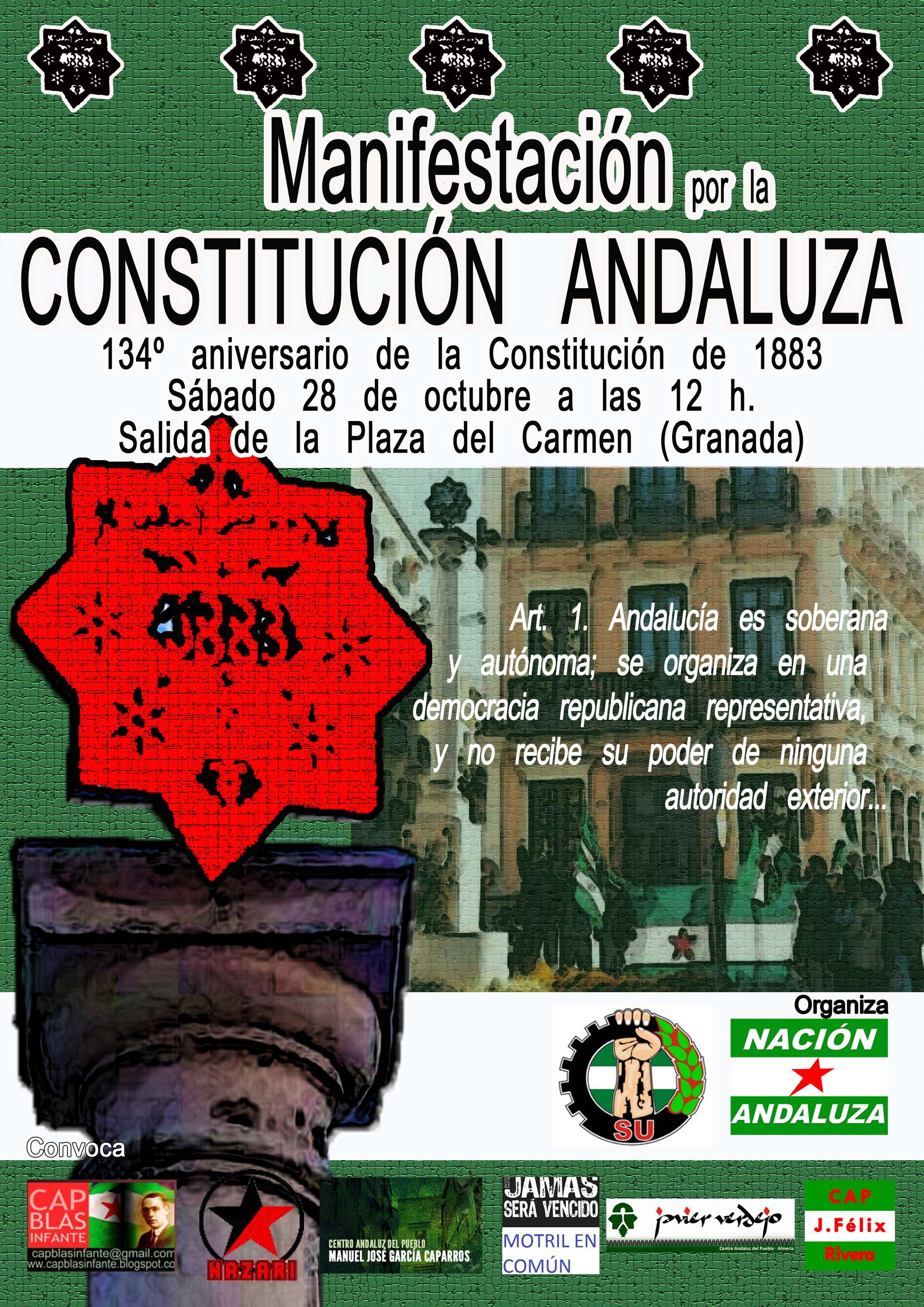 Manifestación por la Constitución Andaluza 2017