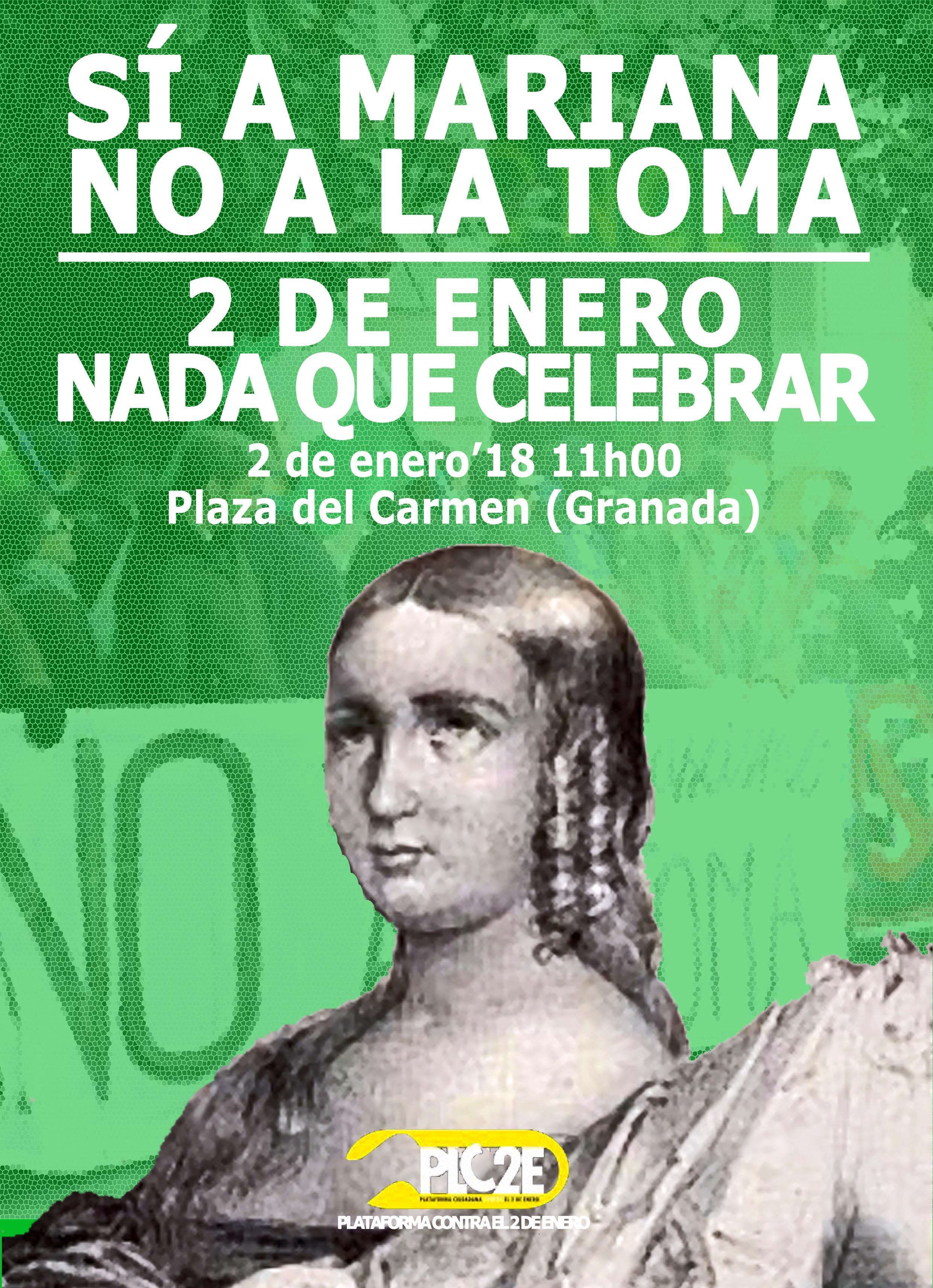 Nación Andaluza ante la celebración de la conquista de Granada: ¡2 de enero, nada que celebrar!