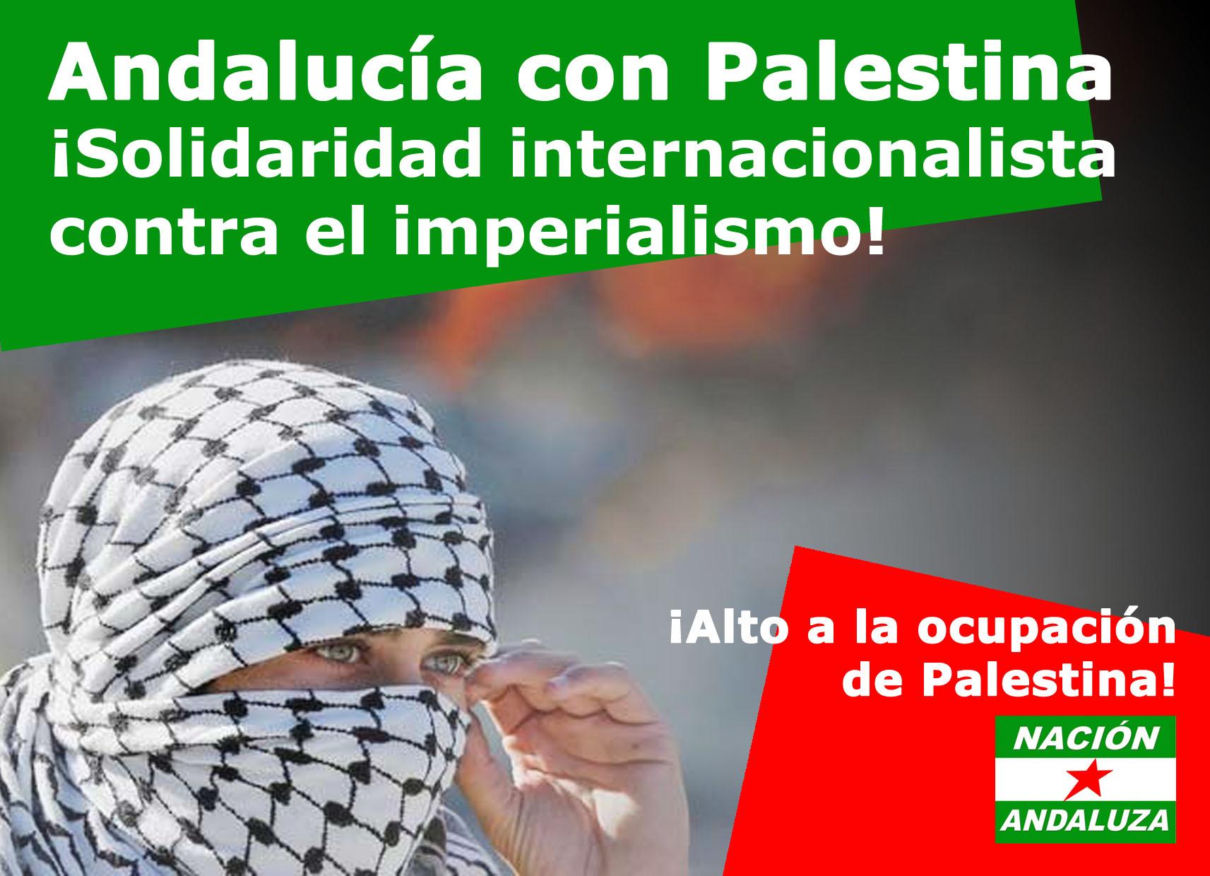 Nación Andaluza en solidaridad con Palestina