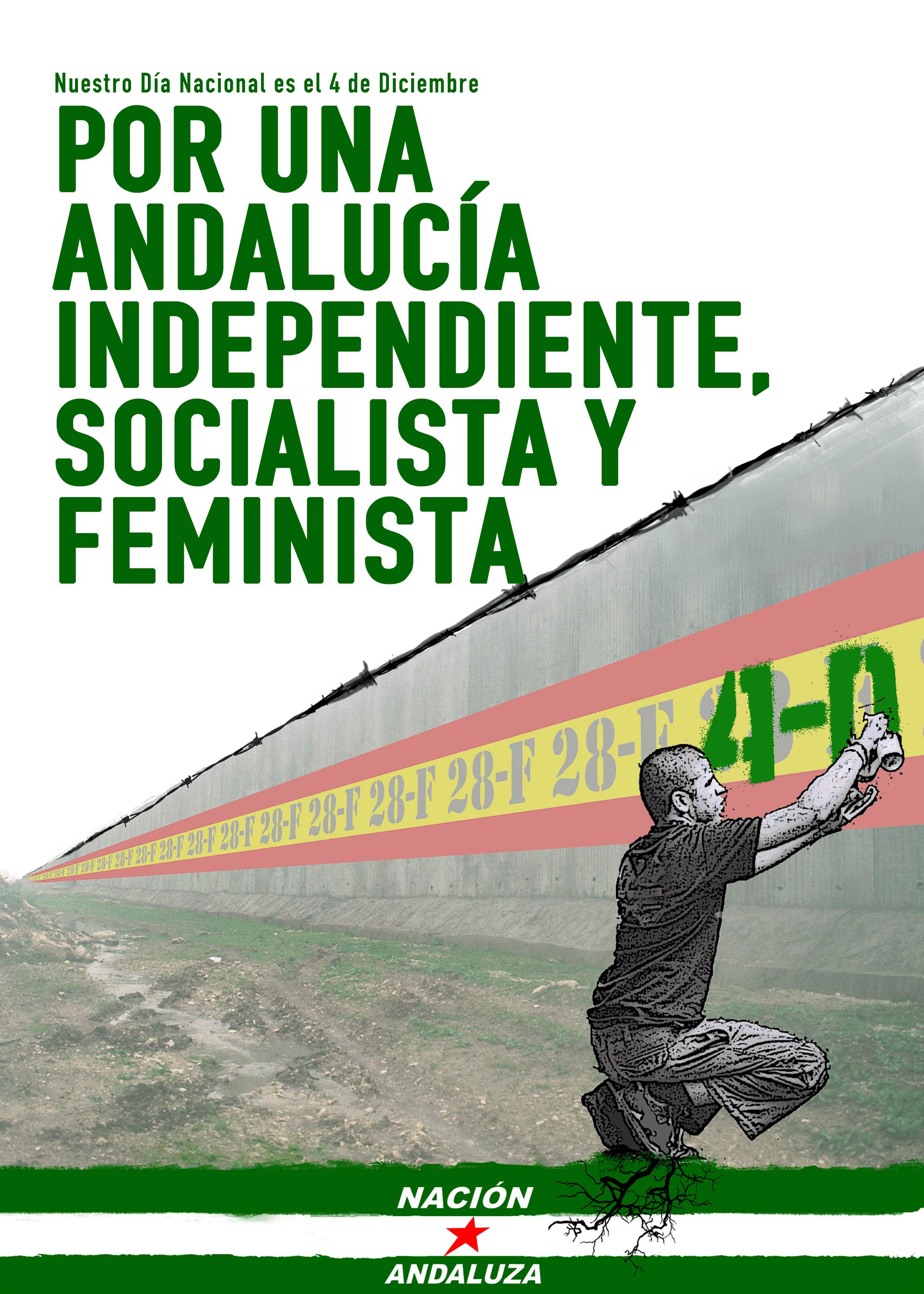 En las elecciones ¡Hacia la liberación de Andalucía!