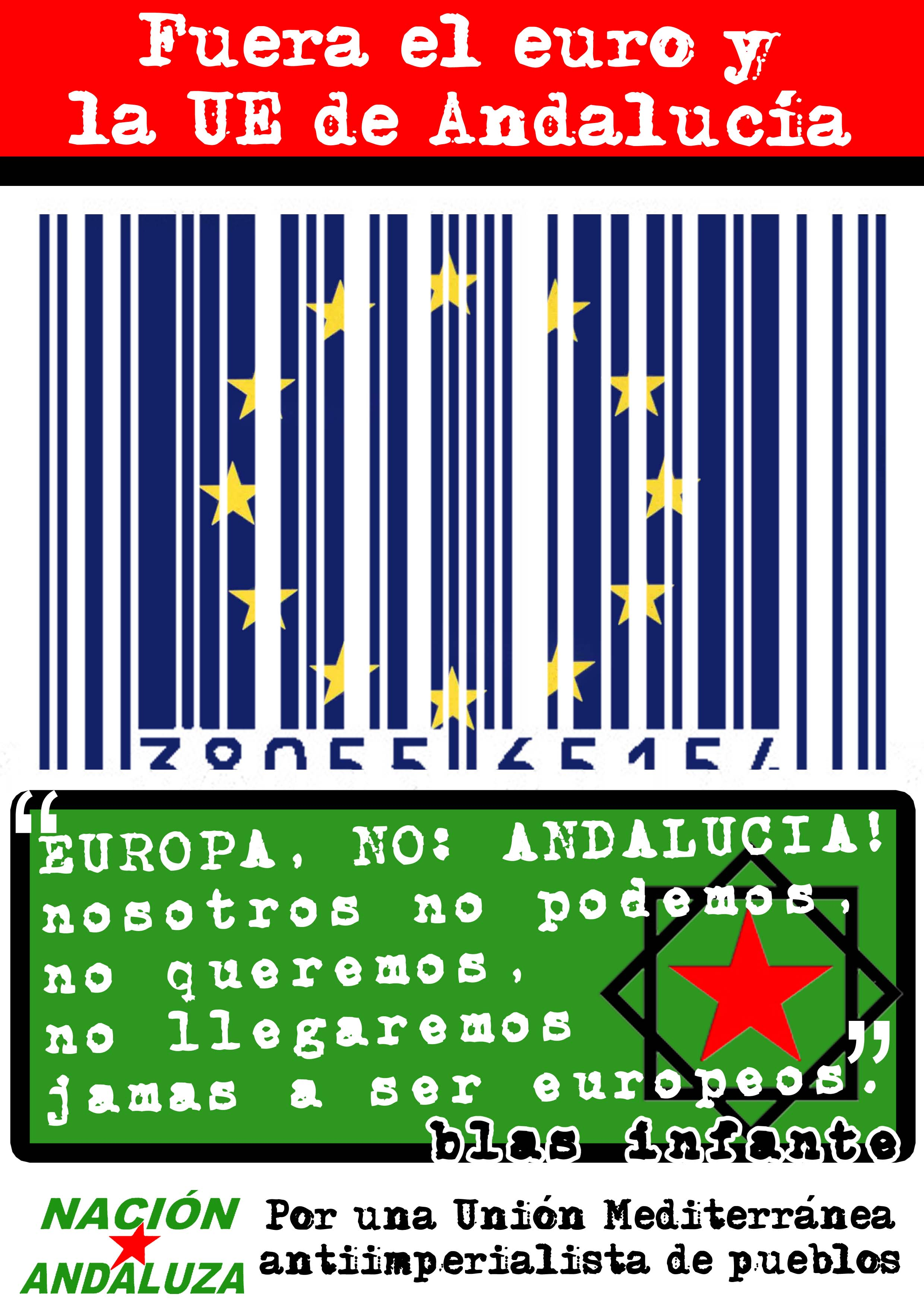 """Nación Andaluza, contra las celebraciones oficiales del """"Día de Europa"""""""