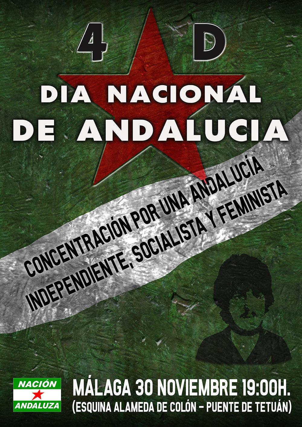Conmemoración del 4D-Día Nacional de Andalucía ¡Por una Andalucía independiente, socialista y feminista!