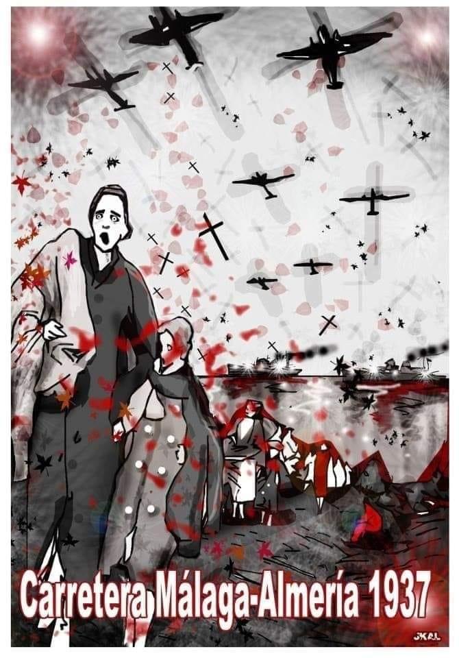 """82º aniversario de la """"Desbandá"""". Nación Andaluza ante un genocidio al Pueblo Andaluz"""