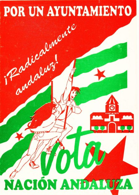 Cartel electoral de las elecciones municipales de 1995