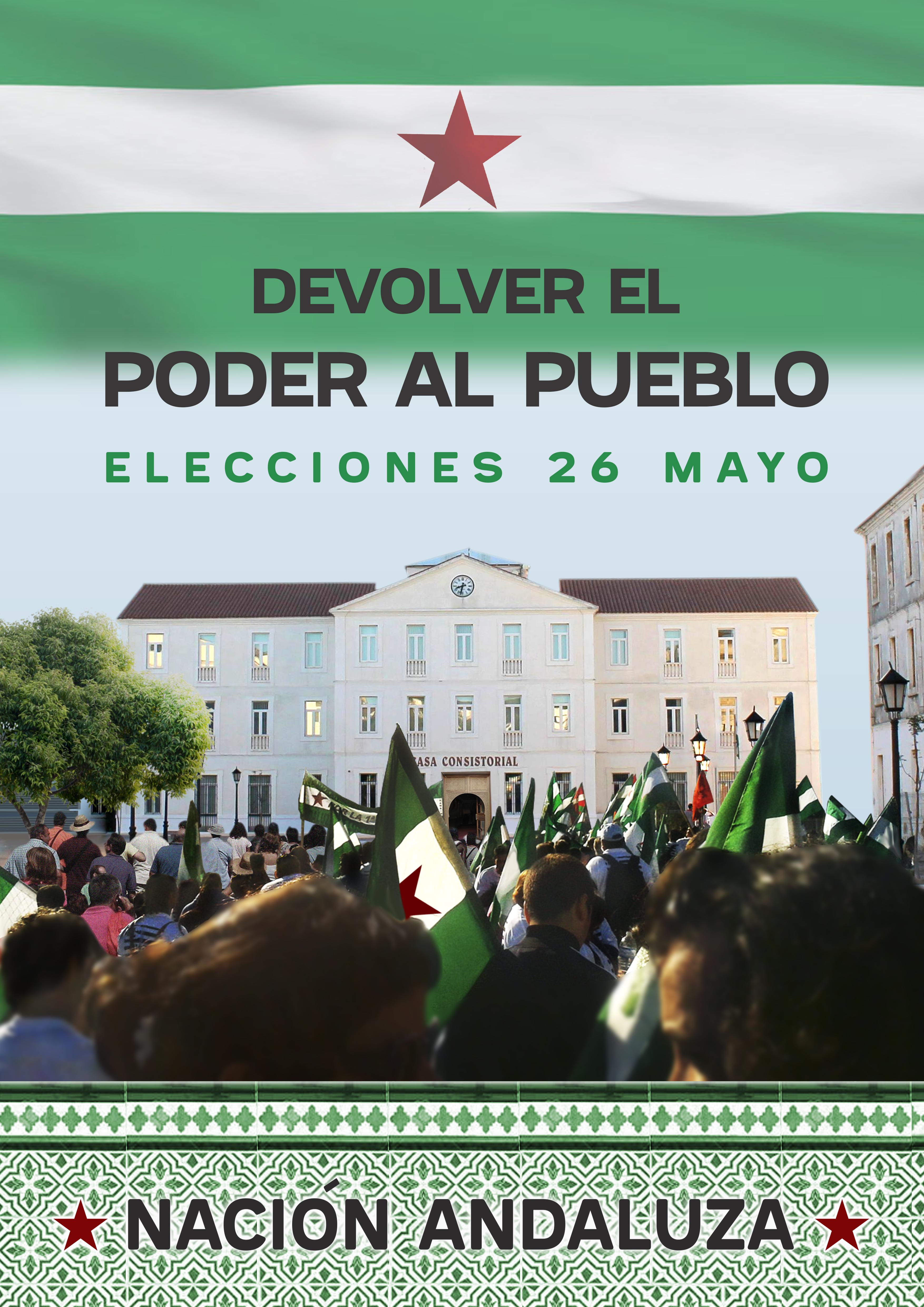 Vídeo nacional de campaña para las elecciones municipales del 26 de mayo