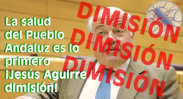 Nación Andaluza ante el brote de listeriosis: La salud del Pueblo Andaluz es lo primero ¡Jesús Aguirre dimisión!