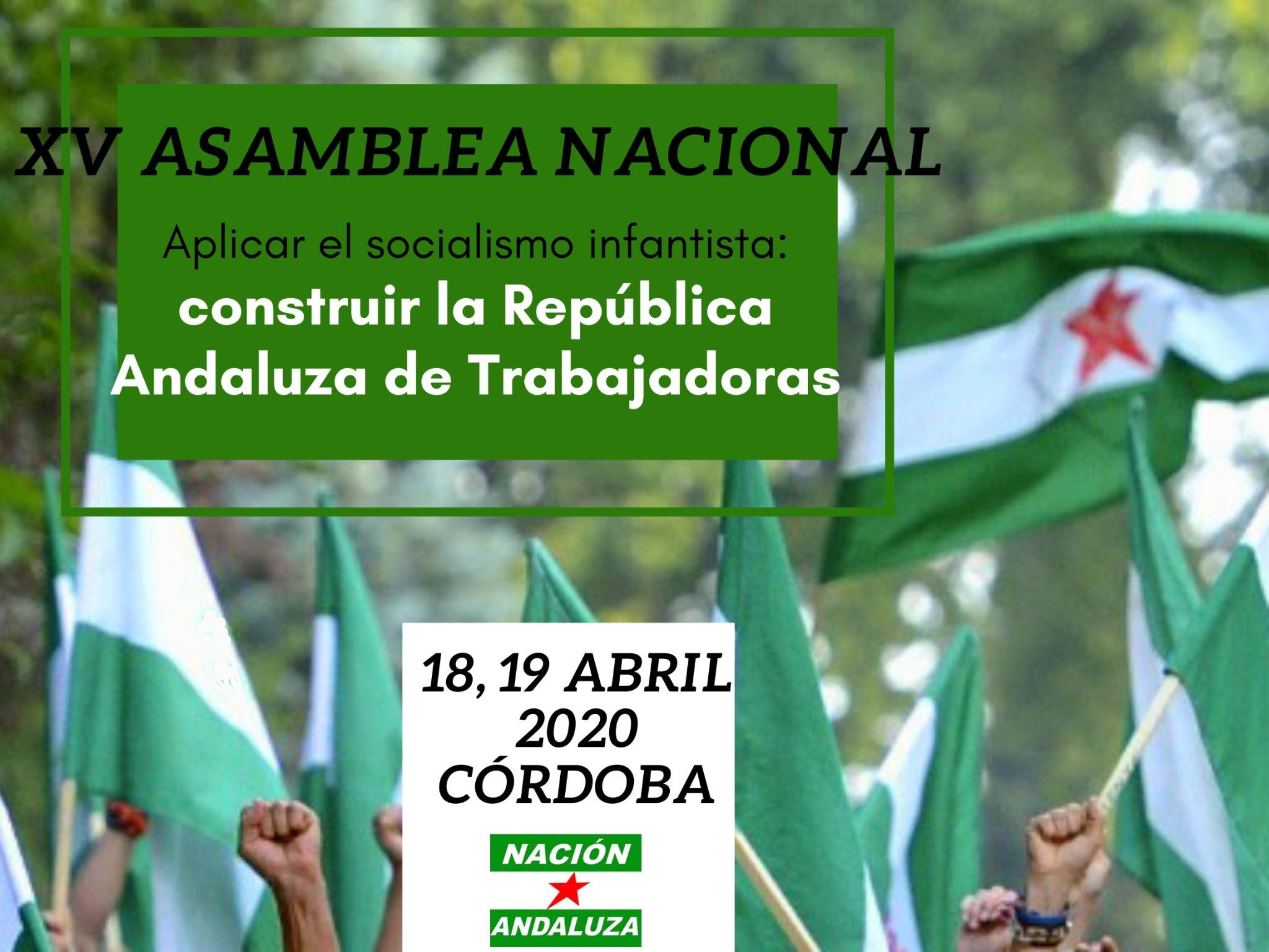 La militancia de Nación Andaluza se prepara para la XV Asamblea Nacional