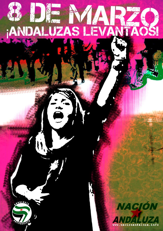 Nación Andaluza ante el Día de la Mujer Trabajadora