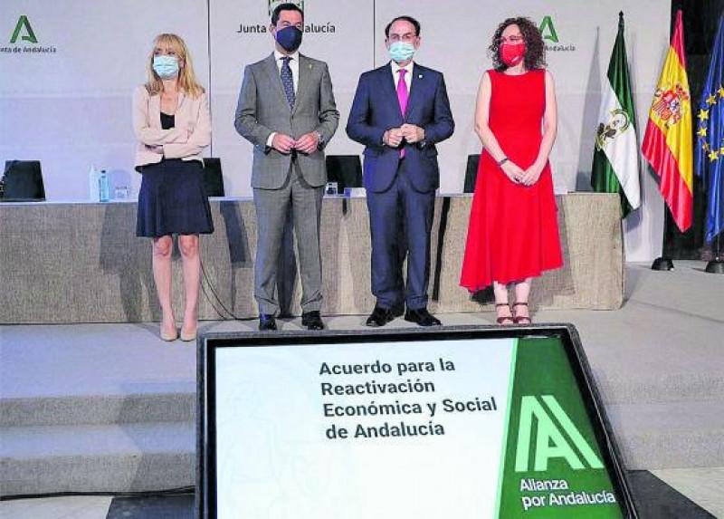 Nación Andaluza ante la firma del Acuerdo de Reactivación Económica y Social de Andalucía: Basta de perder derechos ¡Sólo el pueblo salva al pueblo!