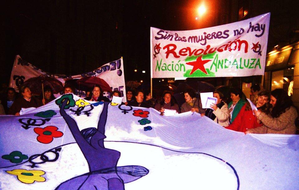 Nación Andaluza ante el día contra la violencia machista ¡Andaluzas, vivas nos queremos!
