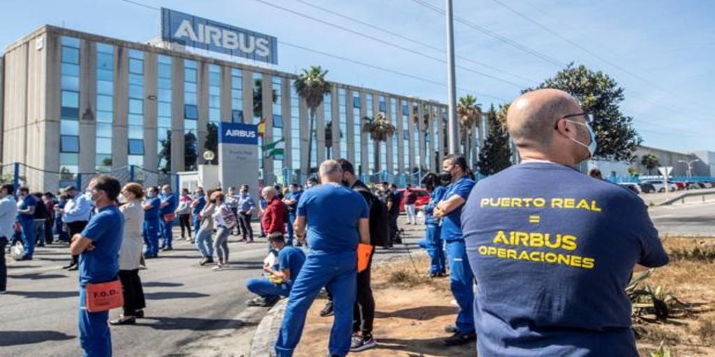 Nación Andaluza en apoyo de la huelga del viernes 18J ¡AIRBUS no se cierra!