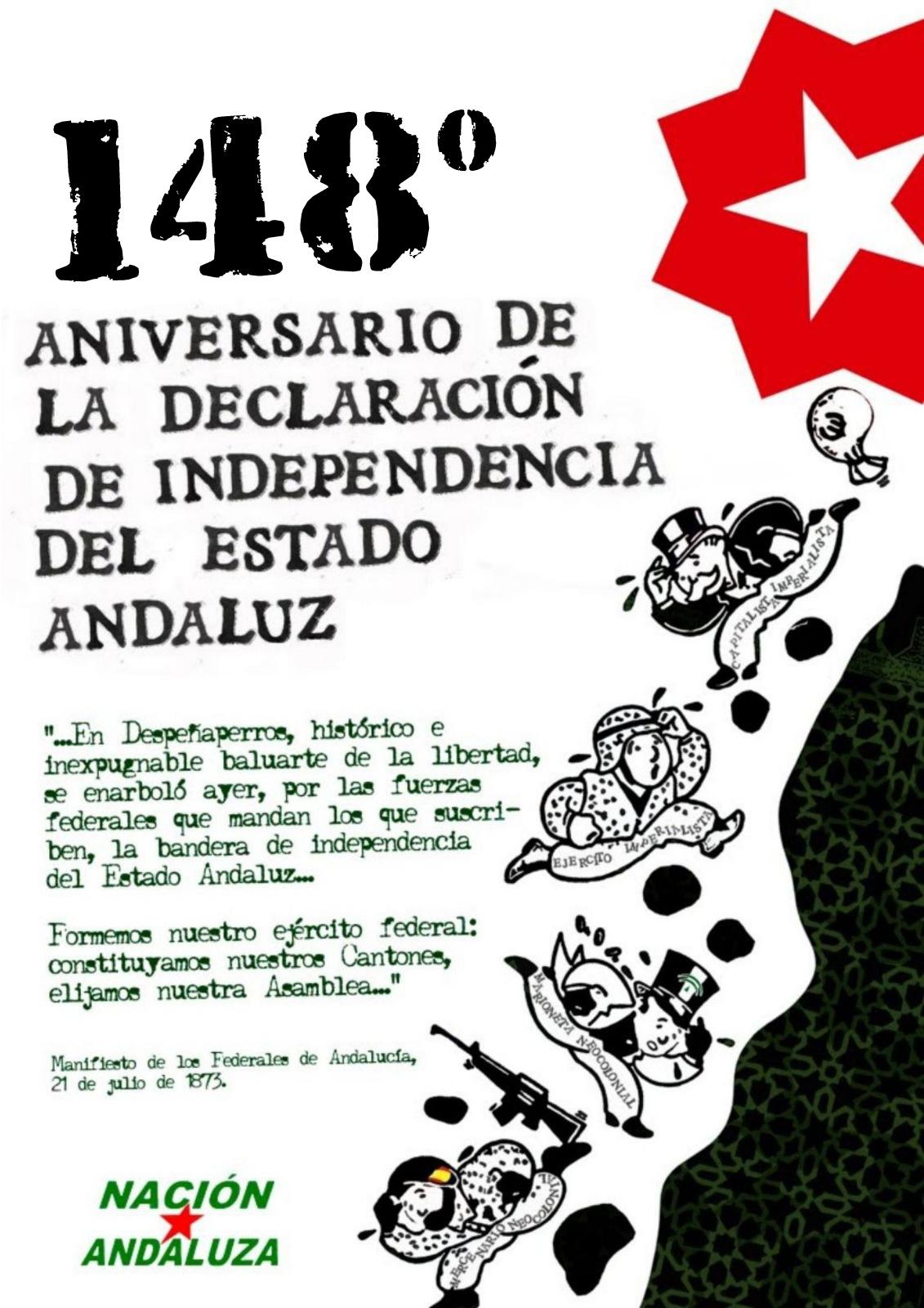 Nación Andaluza ante el 21 de Julio: Día de declaración de Independencia del Estado Andaluz